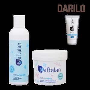 Akcija - Naftalan krema + šampon